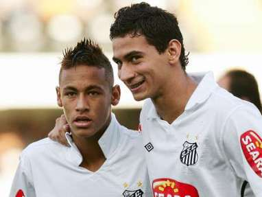 Image result for ganso and neymar